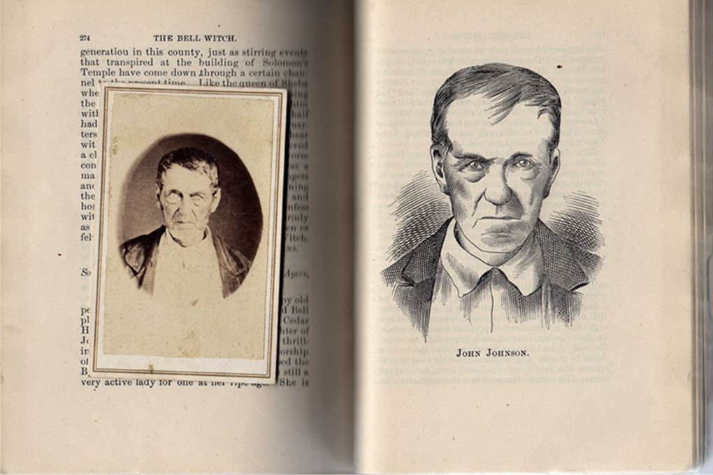 John Johnston - original photograph compared to picture in Ingram's book